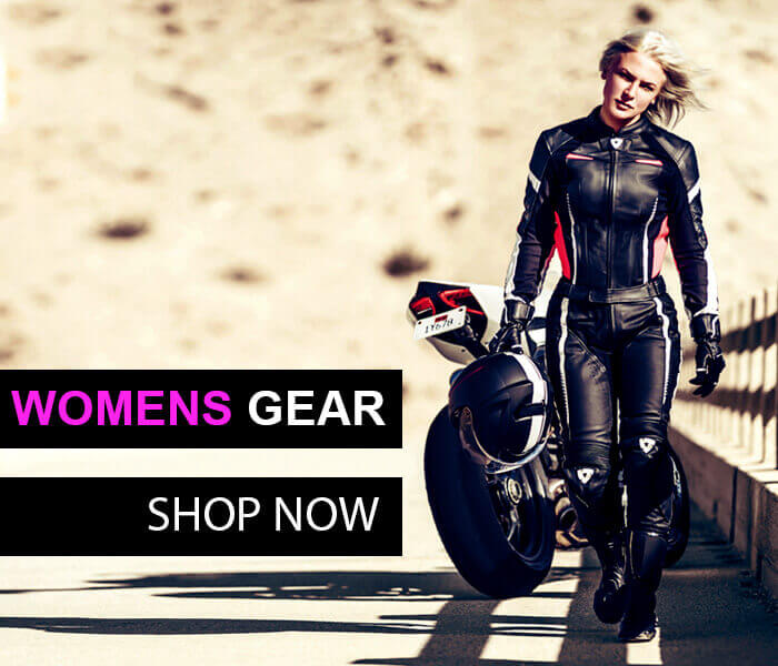 Womens motorcycle gear