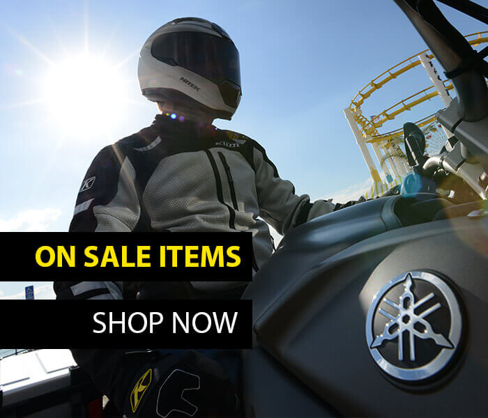 Motorcycle gear on sale